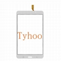 """Glass Touch Screen Digitizer for 7"""" Samsung Galaxy Tab 4  T230- White/Black"""