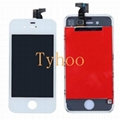 Touch Digitizer LCD Display for Apple iPhone 4 CDMA -White
