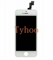 LCD Touch Screen & Digitizer Assembly for iPhone 5S White