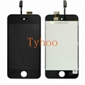 iPod Touch 4th Gen LCD Screen with Digitizer Assembly Black
