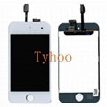 iPod Touch 4th Gen LCD Screen with Digitizer Assembly White