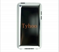 For iPod Touch Gen 4 Back Cover with White Bezel Blank