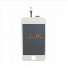 iPod Touch 4 LCD Touch Screen Glass Digitizer White