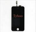 iPod Touch 4 LCD Touch Screen Glass Digitizer Black