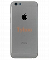 """iPhone 6 4.7""""  Back Housing Cover Middle Frame Replacement Case- Gray"""