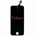 LCD Touch Screen & Digitizer Assembly for iPhone 5S  Black