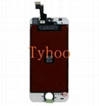 White LCD Display+Touch Screen Digitizer Assembly Replacement for iPhone5S