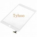 Touch Screen Digitizer Front Glass for iPad Mini 1& 2 Panel Replacement White