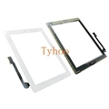 White Touch Screen Digitizer Replacement Assembly for iPad 4  A1458  A1459 A1460