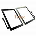 Black Touch Screen Digitizer Replacement Assembly for iPad 4  A1458  A1459 A1460