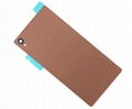 Back Glass Battery Cover For Sony Xperia Z3 D6603 D6643 D6653 4