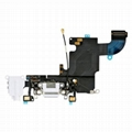 """iPhone 6S 4.7"""" Headphone Jack with Lightning Connector Flex Cable - White"""
