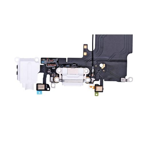 """iPhone 6S 4.7"""" Headphone Jack with Lightning Connector Flex Cable - White 4"""