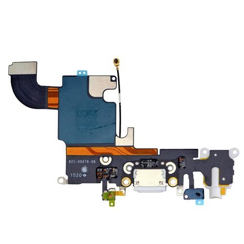 """iPhone 6S 4.7"""" Headphone Jack with Lightning Connector Flex Cable - White 2"""