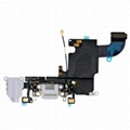 """iPhone 6S 4.7"""" Headphone Jack with Lightning Connector Flex Cable - Light Grey"""