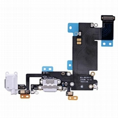 iPhone 6S Plus Headphone Jack with Lightning Connector Flex Cable - White