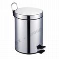 Eco-friendly 3L dust bin pedal bin trash