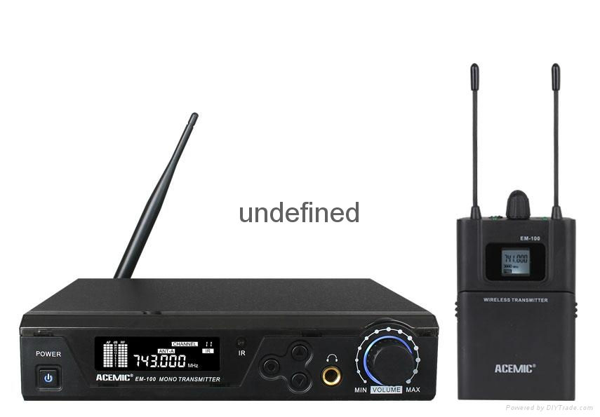 WIRELESS IN-EAR MONITORING SYSTEM   EM-100 1