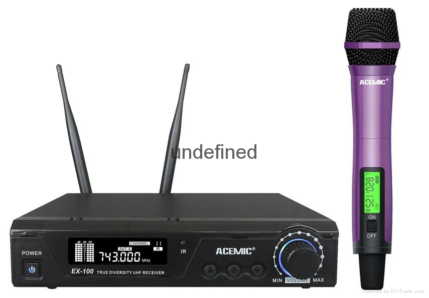 ACEMICUHF Wireless Microphone  EX-100 3