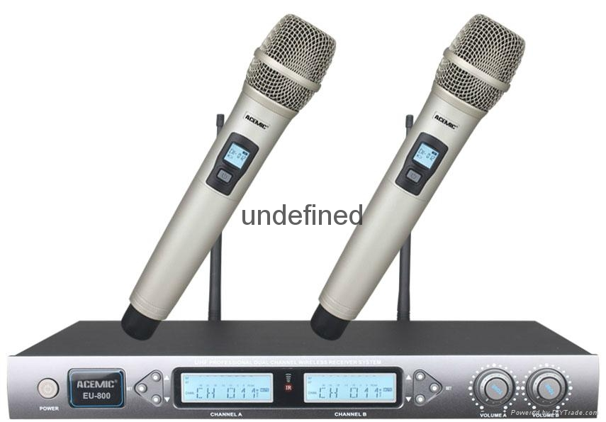 ACEMIC	UHF Wireless Microphone  EU-804    2