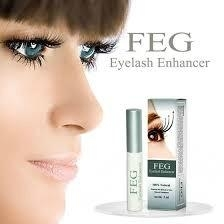 FEG Eyelash Enhancer Fast Enhanced Growth - 100% Natural - 30 Day Supply -3ml