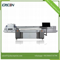 UV flatbed printer with LED lamp high resolution