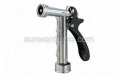 Mid-size metal rear trigger spray gun