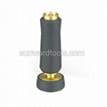 Adjustable brass hose nozzle 1