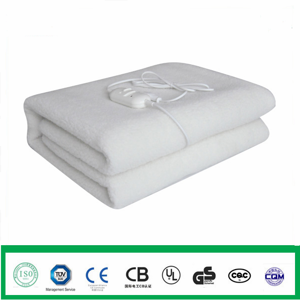 Synthetic Wool Electric Heated Underblanket 1