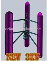 2014最新日川3kw垂直軸永磁家用風力發電機