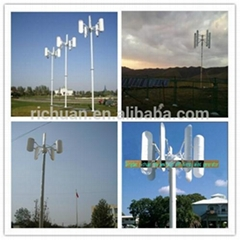 日川5kw垂直軸永磁風力發電機