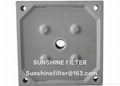 chamber filter plate