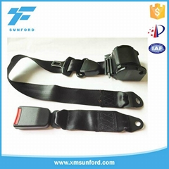 ABS plastic vehicle safety belts and seat belt parts 3 meter car safety belts