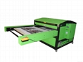 pneumatic large format sublimation heat press machine 80x100cm
