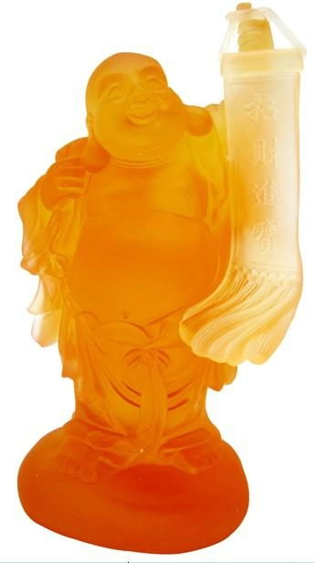 the smiling and wealth buddha  1