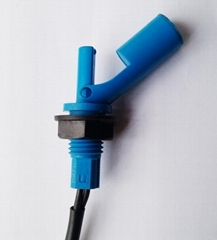 Duck-billed plastic float switch