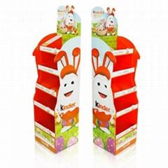 Cardboard Display Rack for Kinda Chocolate