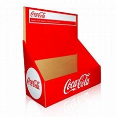 Cardboard Countertop Display Unit for Coke