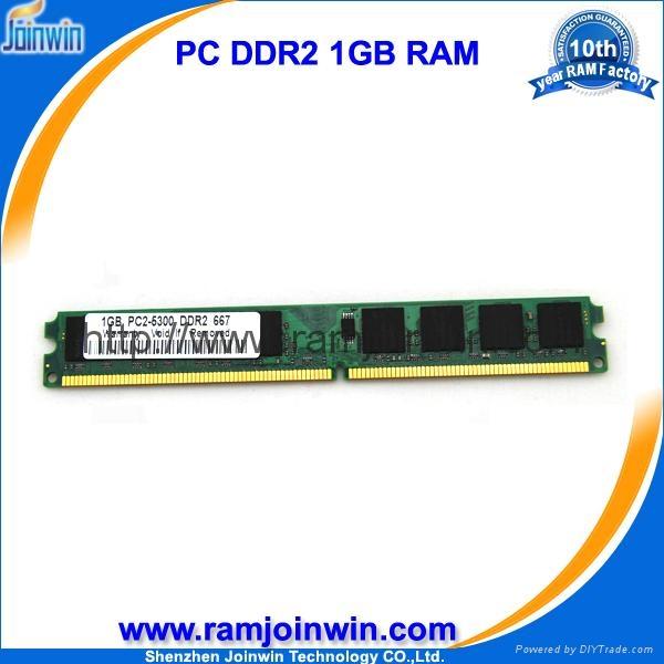 desktop memory ddr2 1gb pc2-5300 667mhz in large stock 1