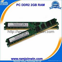 ddr2 ram 800mhz 2gb pc2-6400 for desktop