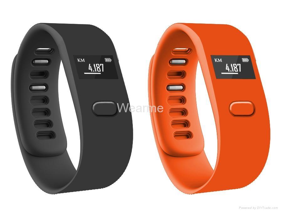 Colorful smart bluetooth bracelet watch wearable fitness technology 2