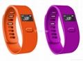 Colorful smart bluetooth bracelet watch wearable fitness technology 3