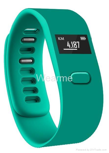 Colorful smart bluetooth bracelet watch wearable fitness technology 4