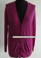 Fashion Women Cashmere Cardigan Sweater