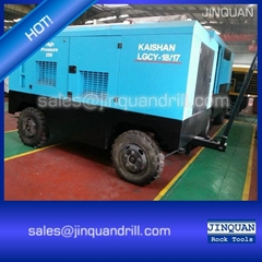 Kaishan LGCY-18/17 Diesel Portable Screw Air Compressor