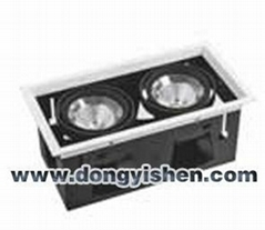 LED Grille Series Lamp (2 Grille)