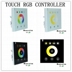 4ch 12-24v rgb  touch controller