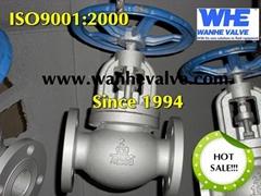 ansi 150lb cast iron globe valve