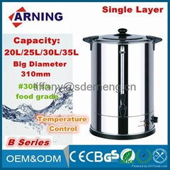 20/25/30/35 Liters Temperature Control Single Layer Commercial Hot Water Boiler