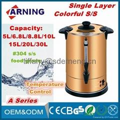 Actual Capacity 15L/18L/24L Manual Water Boiler/ Adjustable Tea Urn/ Home Kettle